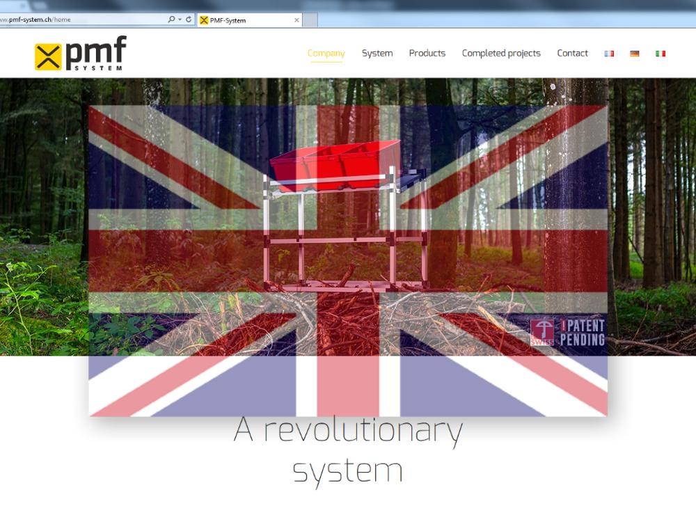 site web aussi en anglais pmf system. Black Bedroom Furniture Sets. Home Design Ideas